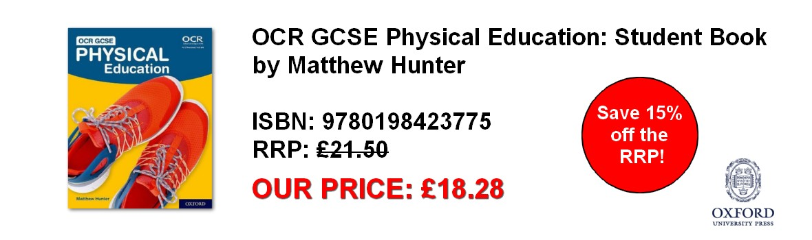 OCR GCSE Physical Education: Student Book - our price £18.28