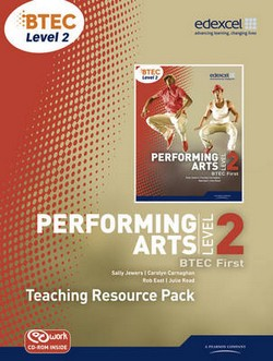 BTEC Level 2 First Performing Arts Teacher Resource Pack with CD-ROM