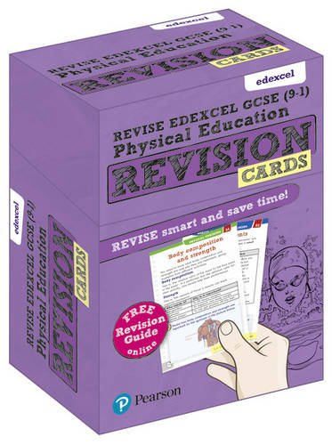 Revise Edexcel GCSE (9-1) Physical Education Revision Cards: with free online Revision Guide