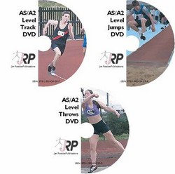 Athletics for A Level PE and Sports Studies - Track, Jumps, Throws DVDs