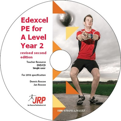 Edexcel PE for A Level Year 2 Revised Second Edition Teacher Resource CD Single User