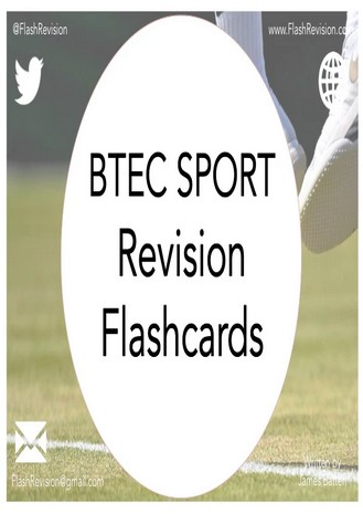 BTEC Sport Level 2 Revision Flashcards