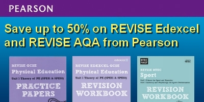 Save up to 50% on REVISE Edexcel and REVISE AQA from Pearson
