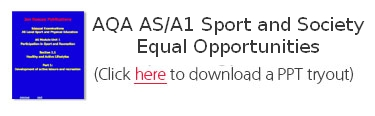 AQA AS/A1 Sport and Society Equal Opportunities