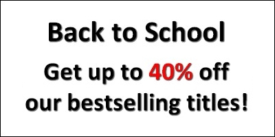 Back to School - Get up to 40% off our bestselling titles!