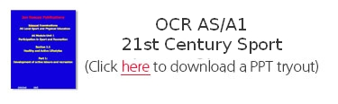 OCR AS/A1 21st Century Sport